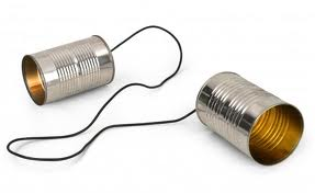 Image result for soup can string phone