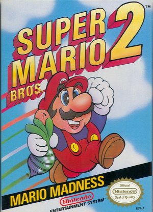 NES-Super Mario Bros 2